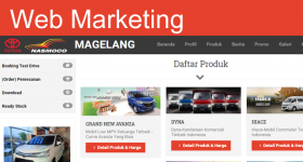 Website Personal Sales Representatif