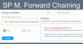 Aplikasi SP Metode Forward Chaining